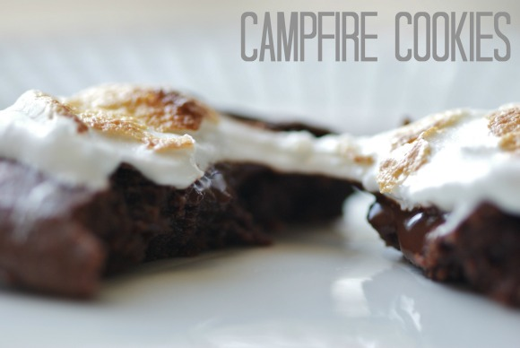 campfire cookies [vegan and gluten-free]