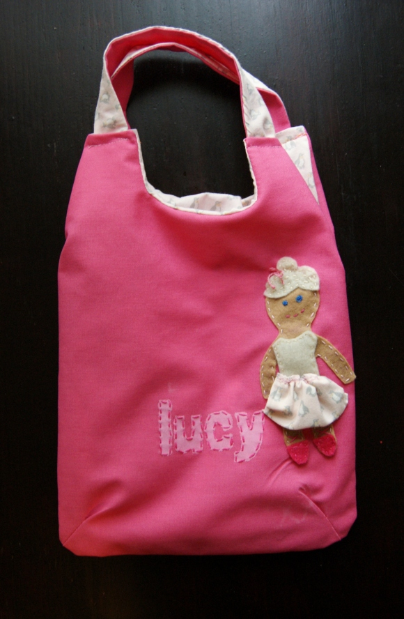 bag for ballet class