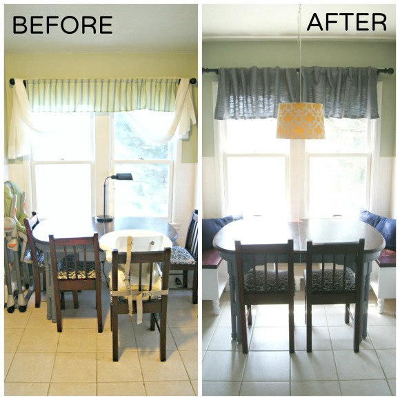 eat-in kitchen [before & after] | hey, beth baker!