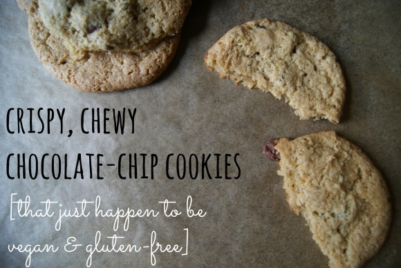 crispy, chewy chocolate-chip cookies | hey, beth baker